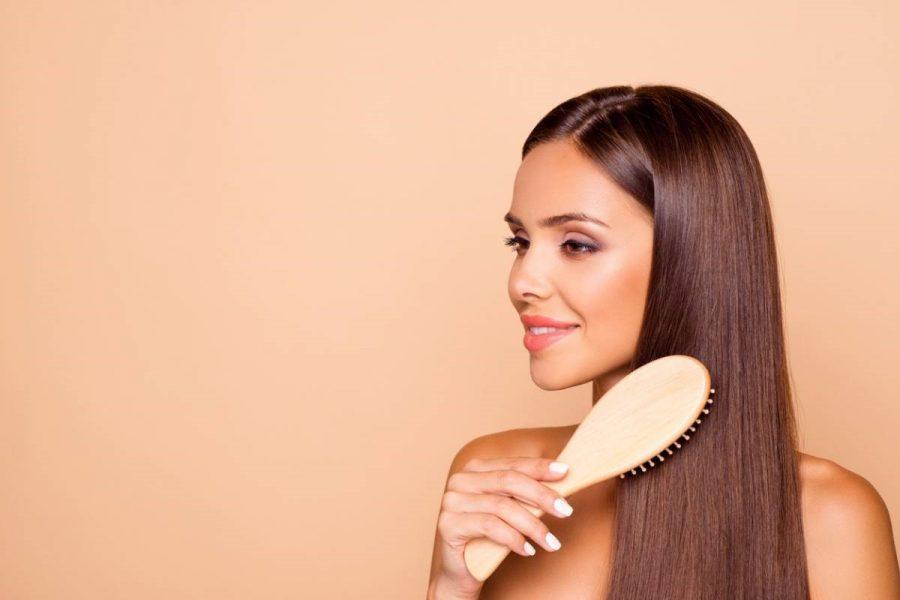 cheveux long et lisse